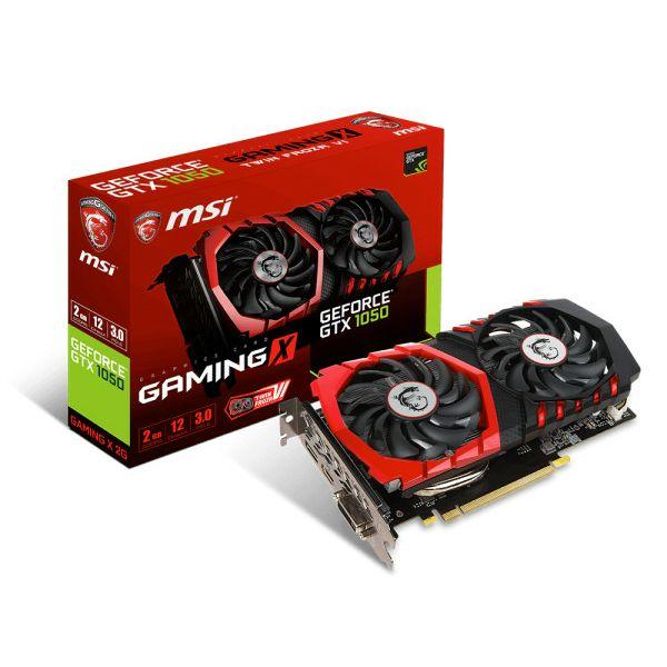 MSI GF GTX 1050 Gaming X, 2GB GDDR5, DX12