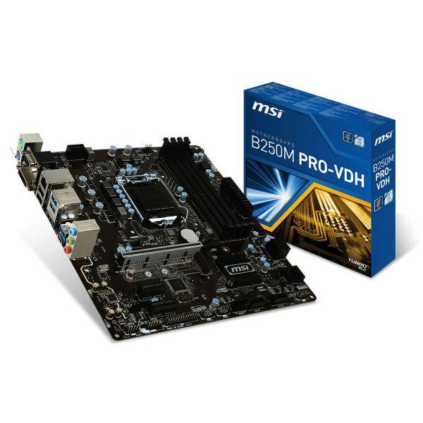 MSI B250M PRO-VDH, LGA1151