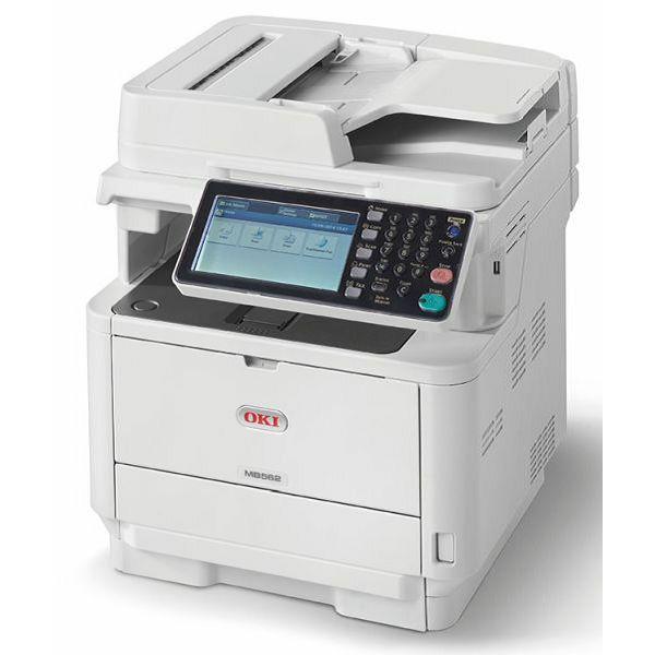 Oki MB562dnw,prnt/scan/copy/fax,45 str.,eth, WL