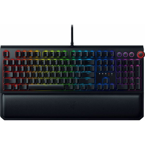 Razer BlackWidow Elite - Mechanical Gaming Keyboard - US Layout (Orange Switch)
