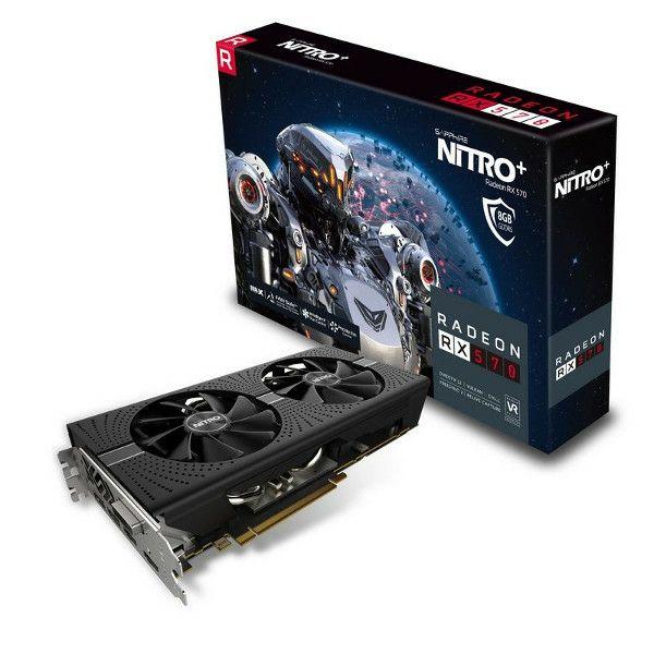 Sapphire RX 570 Nitro+ OC, 8GB GDDR5, FR