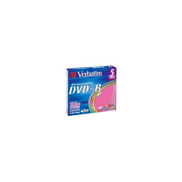 DVD-R 5 SC/16x/4.7GB Colour  V043557