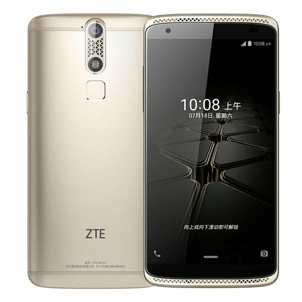 Smartphone ZTE Axon Mini, DualSIM, zlatno žuti  6934933095779