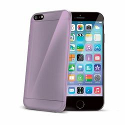 Celly iPhone 6, 6S, 7, TPU Ultrathin Violet_MSN, 3410018835