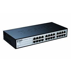 D-Link switch  web upravljivi DES-1100-24