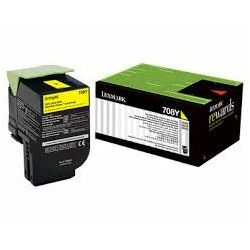Toner Lexmark CS310 708Y Yellow