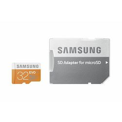 Memorijska kartica Samsung SD micro 32GB EVO Adapter up to 4
