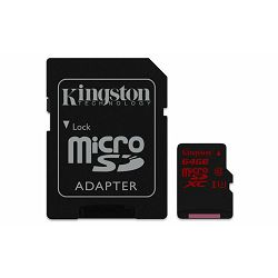 Memorijska kartica  Kingston SD MICRO 64GB HC Class U3