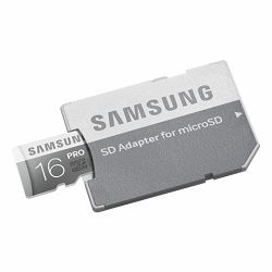 Memorijska kartica Samsung SD micro 16GB PRO Adapter up to 9