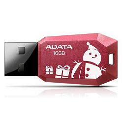 USB memorija Adata 16GB DashDrive UV100F Red AD - Božićni