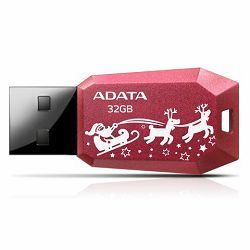 USB memorija Adata 32GB DashDrive UV100F Red AD - Božićni