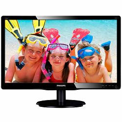 Monitor LED PHILIPS V-Line 226V4LAB/00 (21.5, TN, 16.9, 1920x1080, 5ms, 10M:1, 250 cd/m2, VGA, DVI, Speakers, VESA) Black