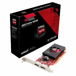 AMD FIREPRO W2100, 2G DDR3 PCI-E DUAL DP FULL