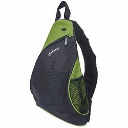Dashpack, Lightweight, Sling-style Carrier for Most Tablets and Ultrabooks up to 12, Black/Green