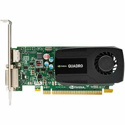 NVIDIA Video Card Quadro K420 DDR3 2GB/128bit, 192 CUDA® Cores, PCI-E 2.0 x16, DVI-I, DP, Cooler, Single Slot, Low Profile (DP-DVI-I Cable, DVI-I-VGA Adapter, Full Size and Low Profile Bracket incuded