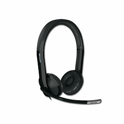 Headphones MICROSOFT LifeChat LX-6000 (Dynamic, 75Hz-20kHz, Built-in Microphone, Cable, 2.175m) Black, Retail