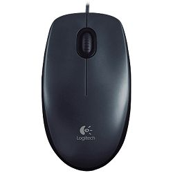 LOGITECH Corded Mouse M100 - EMEA - GRAY
