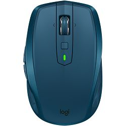 LOGITECH Bluetooth Mouse MX Anywhere 2S - EMEA - MIDNIGHT TEAL