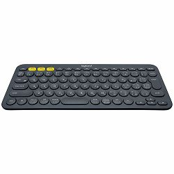 LOGITECH Bluetooth Keyboard K380 Multi-Device -Croatian Layout - DARK GREY