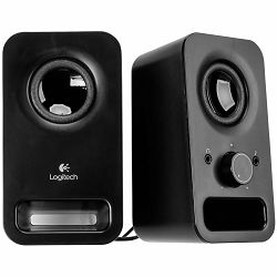 LOGITECH z150 Multimedia Speakers - MIDNIGHT BLACK - 3.5 MM - EU