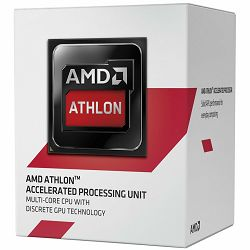 AMD APU Desktop Athlon X4 5150 (1.6GHz,2MB,25W,AM1) box, Radeon HD 8400