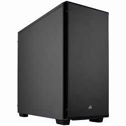 Corsair Carbide Series 270R – Mid-Tower ATX Case, Mini-ITX, MicroATX, ATX, Solid Side Panel, (x2) USB 3.0, (x1) Headphone Port, (x1) Microphone Port, Fan included: Rear: (x1) 120mm,