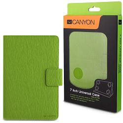 Green color universal case with stand suitable for most 7