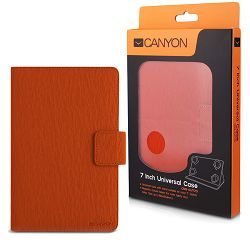 Orange color universal case with stand suitable for most 7