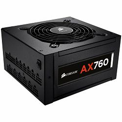 Corsair Professional Platinum Series, AX760 ATX, EPS12V, Fully Modular PSU, EU Version