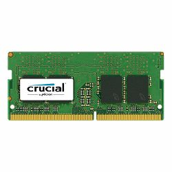 Crucial DRAM 16GB DDR4 2400 MT/s (PC4-19200) CL17 DR x8 Unbuffered SODIMM 260pin, EAN: 649528773401