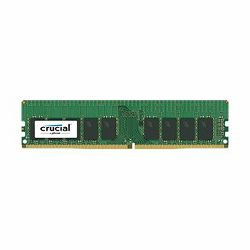 Crucial DRAM 16GB DDR4  2400 MT/s (PC4-19200) CL17 DR x8 ECC Unbuffered DIMM 288pin, EAN: 649528772473