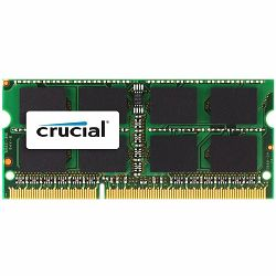 Crucial RAM 4GB DDR3 1333 MT/s (PC3-10600) CL9 SODIMM 204pin 1.35V/1.5V for Mac