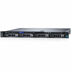 DELL EMC PowerEdge R230,  Intel Xeon E3-1220 v6 3.0GHz, 8M cache, 4C/4T, turbo(72W), 8GB UDIMM, 2400MT/s, 1TB 7.2K SATA 3.5, iDRAC8 Express, PERC H330 Integrated RAID, DVD+/-RW,  Single Cabled Power