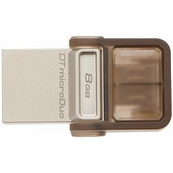Kingston 8GB DT MicroDuo USB 2.0 micro USB OTG, EAN: 740617229172