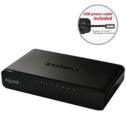 Edimax Gigabit SOHO switch 5800G V3,8-port, USB