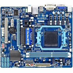 GIGABYTE Main Board Desktop AMD 760G (SAM3+,DDR3,VGA,SATA II,LAN,USB 2.0) mATX Box