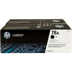 HP 78A 2-pack Black Original Toner Cartridges