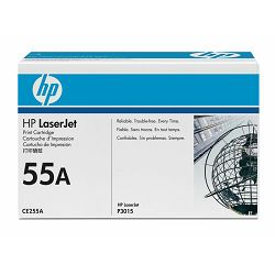 HP toner CE255A Black Print Cartridge