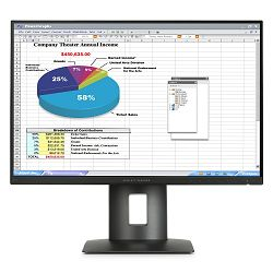 HP 23.8 Z24nf Narrow Bezel LED,FHD,DVI-D,MHL,8ms