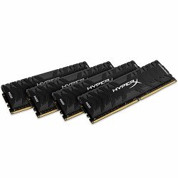 KINGSTON 32GB 2400MHz DDR4 CL12 DIMM (Kit of 4) XMP HyperX Predator