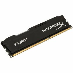Kingston  8GB 2400MHz DDR4 CL15 DIMM HyperX FURY Black, EAN: 740617256550