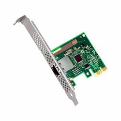 Intel Ethernet Server Adapter I210-T1 (Single-Port 1G Eth., Audio-Video-Bridging (AVB), PCIe2.1 2.5GT/s, MDI/MDI-X, APM, ACPI 2.0c, PXE, iSCSI Remote Boot, ECC Packet Buffers, FH & LP brackets), bulk