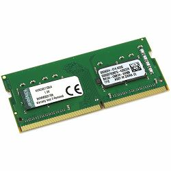 KINGSTON 4GB 2400MHz DDR4 Non-ECC CL17 SODIMM 1Rx8 Lifetime