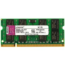 Kingston  2GB 800MHz DDR2 Non-ECC CL6 SODIMM, EAN: 740617128826