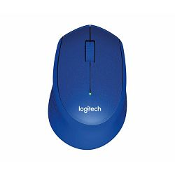 M330 silent plus BLUE wireless mouse