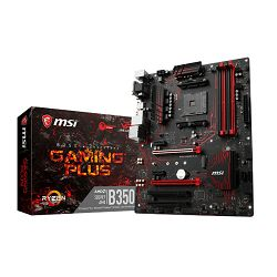 MSI B350 Gaming Plus, AM4, DDR4, U3, m.2, ATX