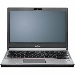 Fujitsu LIFEBOOK E736 non-vPro (13.3) HD magnesium LED,Intel Core i3-6100U 2.3GHz 3MB,4 GB DDR4 2133 MHz PC4-17000,SSD SATA III 128GB high speed, 2x digital array mic & FHD cam,no fingerprint, no sma