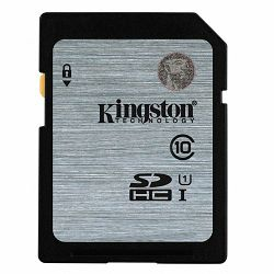 Kingston  16GB SDHC Class10 UHS-I 45MB/s Read Flash Card, EAN: 740617243413
