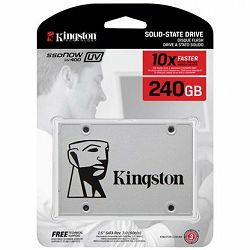 Kingston  240GB SSDNow UV400 SATA 3 2.5 (7mm height), EAN: 740617252897