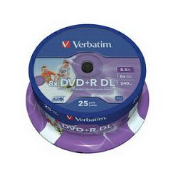 DVD+R DL 25 S/8x/8.5GB no ID
